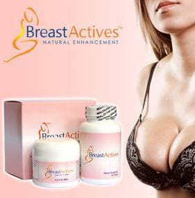 Breast Actives for natural breast enhancement